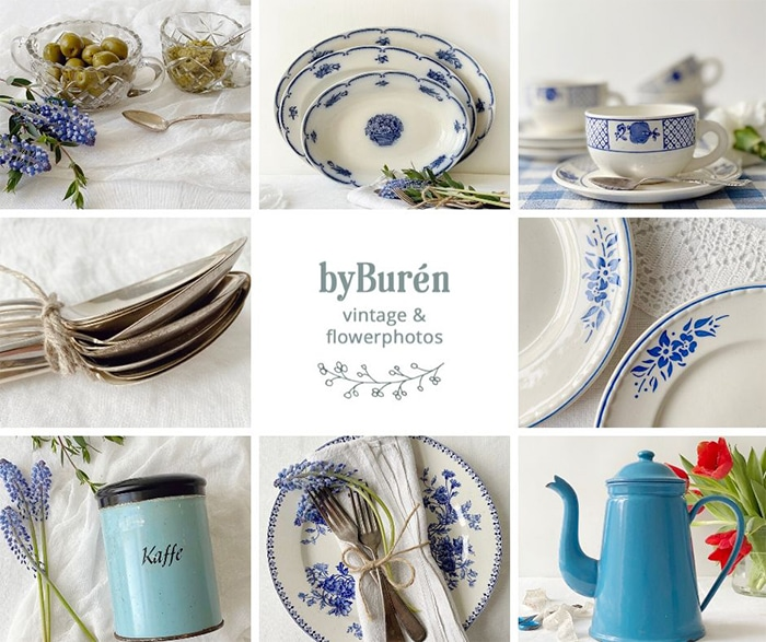 byBuren.com Vintage and Flowerphotos